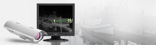 Nowe kamery termowizyjne IP - kolejny kamień milowy firmy BOSCH w systemach zabezpieczeń!